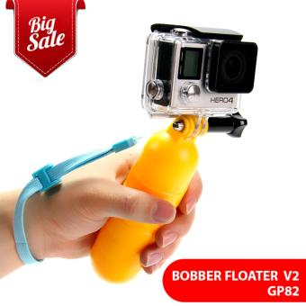 (GP82) Yellow Water Floating Hand Grip Handle Mount Float Accessoryfor Gopro Hero 5 4 3+ For XIAOMI for YI 4K EKEN GP82 Price Philippines
