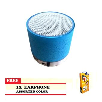 GRAND PROMO Remax Sound Mini LED Bluetooth Speaker Re-131 with FREEEarphone re-21 Price Philippines