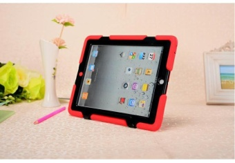 Griffin Survivor Military Anti Fall Protective Case For Apple iPad2 / 3 / 4 (Red)