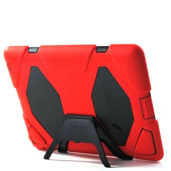 Griffin Survivor Military Silicone Hard Case for iPad Mini 1 /2 /3(Red)