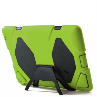 Griffin Survivor Military Silicone Hard Case for iPad Mini 4(Green)