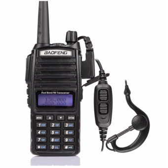 GS UV-82 Dual Band VHF/UHF Two Way Radio (Black)