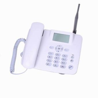 GSM home wireless telephone cordless telephone GSM850/900/1800/1900MHz fixed wireless telephone with FM and support speed dial - intl