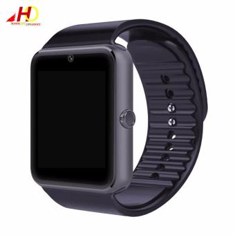 GT08 Bluetooth Smartwatch Smart Watch with SIM Card Slot and 2.0MPCamera (Black)