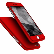 GZ 360 Degree Full Body Protection Cover Case Casing With Tempered Glass For iPhone 6 6S