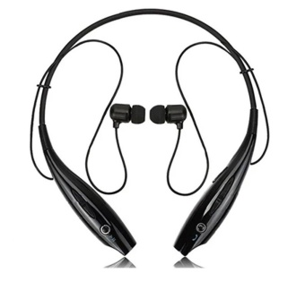 H730 Sports Wireless Bluetooth stereo Headset (Black)