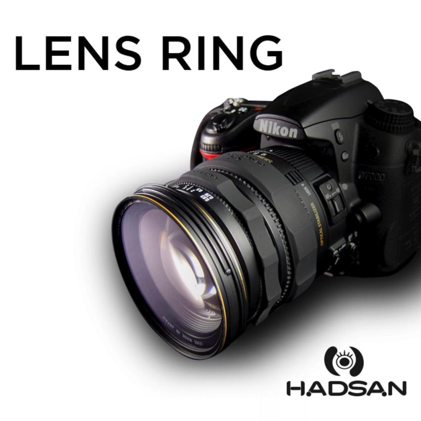 HADSAN Zoom and Focus Silicone Rubber Lens Ring (BLACK) Price Philippines