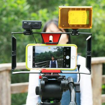 Handheld Video Cage Stabilizer Film Steady Handle Grip Rig For Mobile Phones