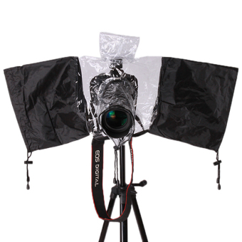 Hanyu DSLR Camera Rain-Proof Cover Black and White