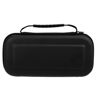 Hard Portable Travel Carrying Protective Storage EVA Case Bag ShellSleeve Cover for Nintendo Switch Cables Game Card Accessories Black- intl