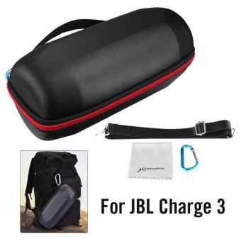 Hard Storage Carry Case w/ Belt for JBL Charge3 Wireless Bluetooth Speaker TH578 - intl