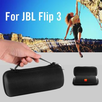 Hard Storage Case + Clean Cloth for JBL Flip 3 Wireless Bluetooth Speaker TH576 - intl