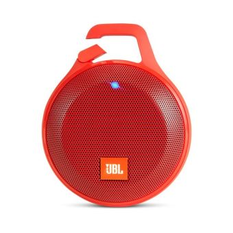 Harman JBL Clip Plus Splashproof Bluetooth Speaker (Red)
