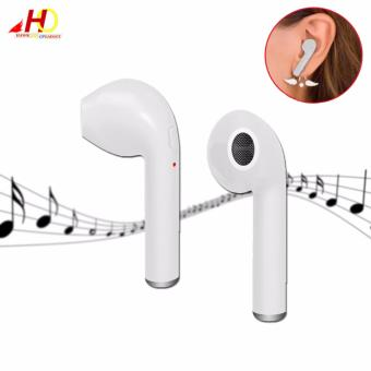 HBQ i7 Single Earphone Wireless Music Earphone (White) Price Philippines