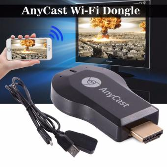 HD 1080P AnyCast M2 Plus Wifi Display Dongle Receiver Airplay DLNA Ezcast AH195 (Black)