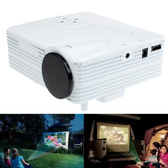 HD 1080P Home Cinema Theater LED LCD Projector PC AV TV VGA USBHDMI - intl Price Philippines
