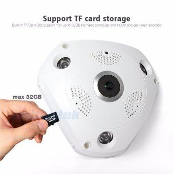 HD 960P 3D VR CCTV IP Camera Wi-Fi Fisheye Lens Night Vision Surveillance Panorama Security Wireless Camera IP 360 Degree View - intl - 2