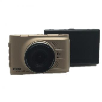 HD Car Camera Car DVR Video Recorder Dash Cam Camcorder (Gold)