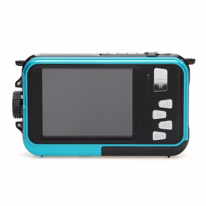 HD Digital Video Camera 24 million Pixel Digital 16X Zoom Dual LCDScreen Anti-shake Mini Camcorder 32GB TF card Storage - intl - 5