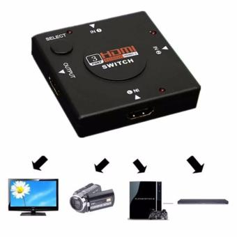 HDMI 3 Input Switch Hub Switcher Splitter 1080p for HDTV Xbox One360 PS3 PS4 - 3