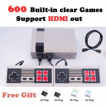 HDMI Output mini Console Family TV Video Game Console ChildhoodBuilt-in 600 Games HDMI Out Retro Classic Handheld Game Player -intl