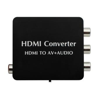 HDMI to AV + Audio Converter Support SPDIF Coaxial Audio NTSC PALCVBS - intl Price Philippines