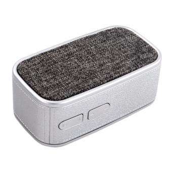 HDY-N11 New Music Wireless Portable Bluetooth Speaker (Silver)
