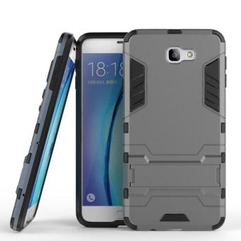 [Heavy Duty] [Shock-Absorption] [Kickstand Feature] Hybrid Dual Layer Armor Defender Full Body Protective Case Cover for Samsung Galaxy J7 Prime / On7 (2016 Released), [Not for Galaxy J7-2017] - intl