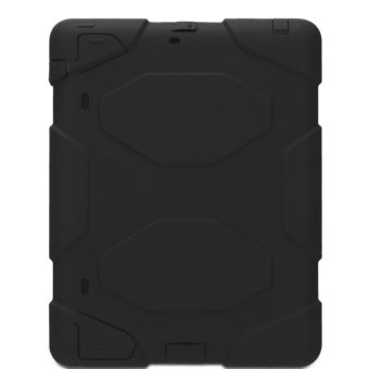 Heavy Duty Shockproof Case for iPad Air 2 (Black)