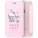 Hello Kitty iphone7plus cartoon flip-Apple whole package Leather cover phone case
