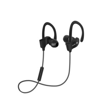 HengSong Sport Running Stereo Blutooth Headphones Blutooth 4.1 Wireless In-Ear Earphone Headset for iPhone/Android(Black) - intl