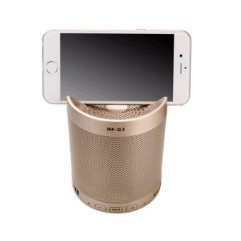 HF-Q3 Wireless Bluetooth 2.1 Multifunction Sub-woofer Speaker (Gold)