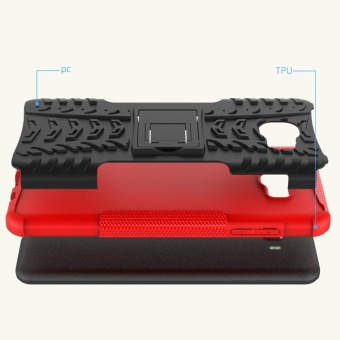 Hicase Detachable 2 in 1 Shockproof Tough Rugged Dual-Layer Case Cover .