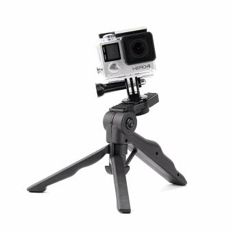 High-end Tripod Monopod Mount for Go Pro Hero 5/4/3 Yi 4k SJCAMSJ4000 Beauty Leg Tripod Sport Action Camera Accessories