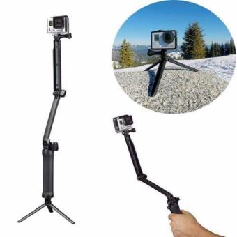 High Quality 3 Way monopod for any action camera gopro, sjcam, yi,supremo Price Philippines
