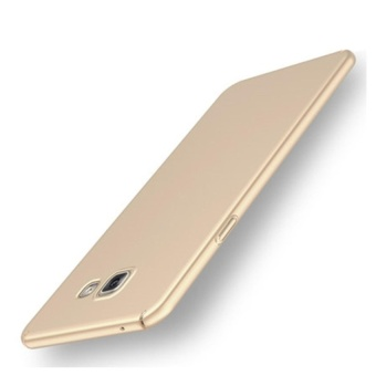 High quality 360 ultra-thin matte PC hard Cover Case For SamsungGalaxy A7 2017( gold)