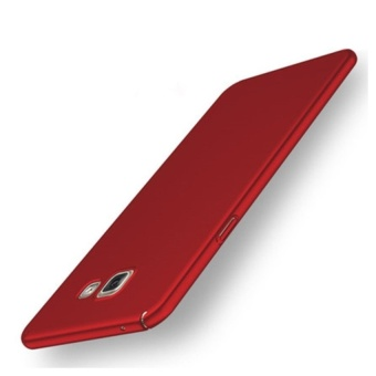 High quality 360 ultra-thin matte PC hard Cover Case For SamsungGalaxy A7 2017 (Red)