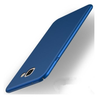 High quality 360 ultra-thin matte PC hard Cover Case For SamsungGalaxy A7 2017(Blue)