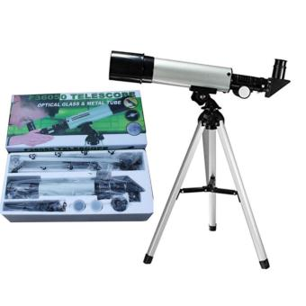 High Quality Astronomical Telescope F36050 Monocular Telescopes360/50mm Silver Refractor Type for Children Student