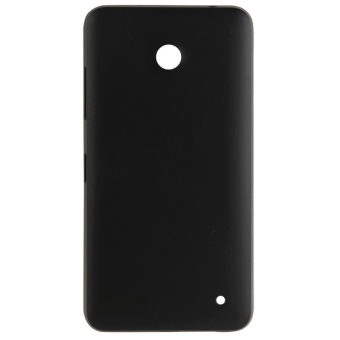 High Quality Back Cover Replacement for Nokia Lumia 630(Black)