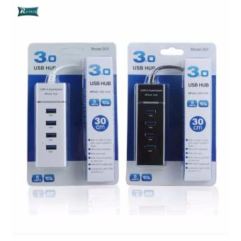 High Speed 5Gbps 4 Ports USB HUB 3.0 Splitter Adapter for Laptop PC/ Notebook / Computer Peripherals Accessories - 4