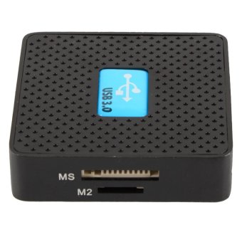 High Speed USB 3.0 All in 1 SD TF CF XD M2 MS Flash Memory Card Reader Adapter - 5
