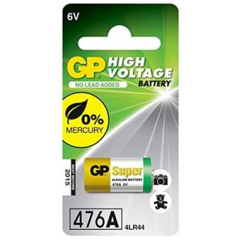 High Voltage 6v Alkaline Battery in reference to 4LR44 476A A544V4034PX and PX28A Camera and Flash Batteries