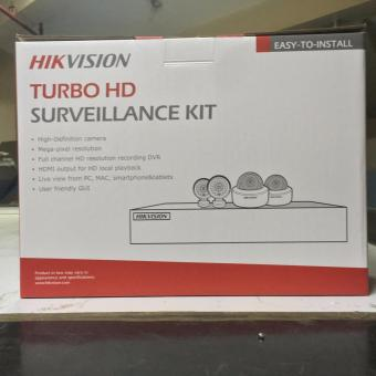 Hikvision 1MP Combo Kit 4 Channel CCTV Package with 1 TB Hard Disk - 2