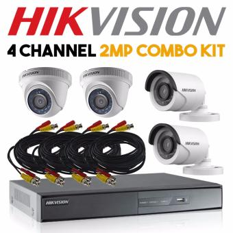 Hikvision 4 Channel 2MP Turbo Surveillance Kit