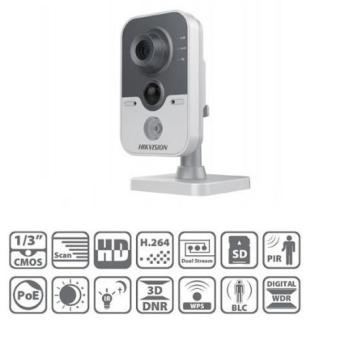 Hikvision DS-2CD2420F-IW 2MP Wi-Fi IR Cube Network Camera