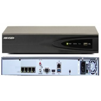 Hikvision DS-7604NI-E1/4P 4 Channel NVR with POE