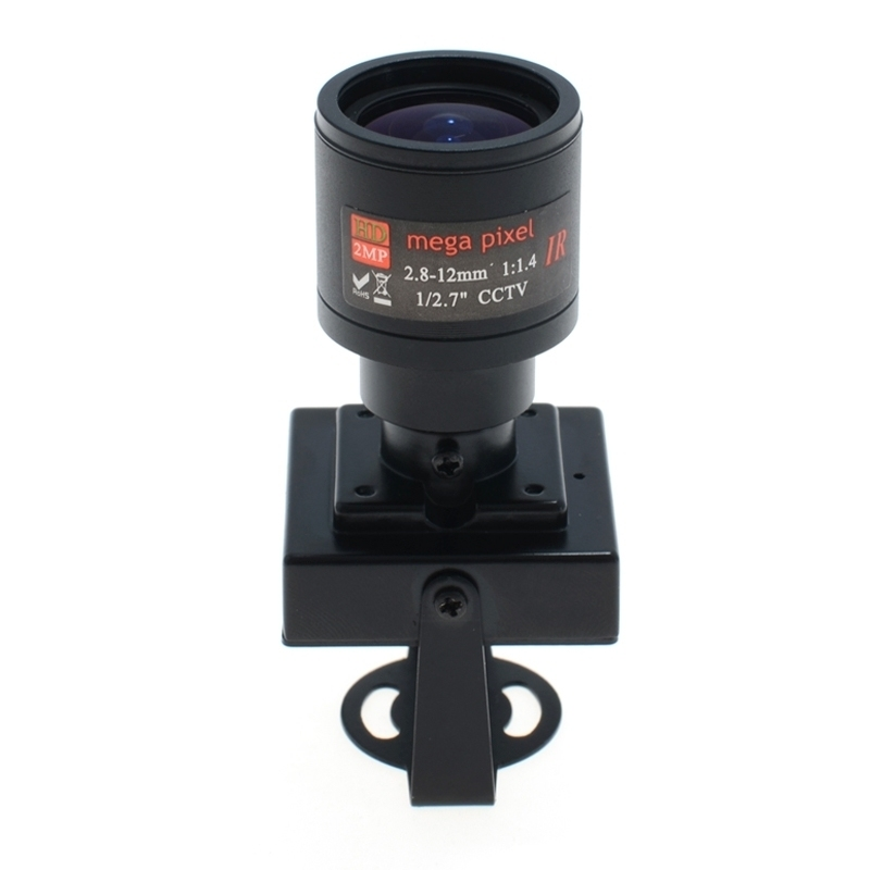 HJ 700TVL CCD Mini CCTV Security FPV Camera OSD D-WDR 2.8-12mm Focus Zoom Lens, PAL System