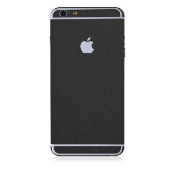 HKS Front Back Skin Sticker Wrap Decal Case for iPhone 6/6 Plus(Black) - intl