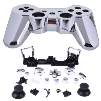 HKS New Wireless Controller Full Housing Shell Case for Sony PS 3 PS3 Silvery (Intl) - picture 2